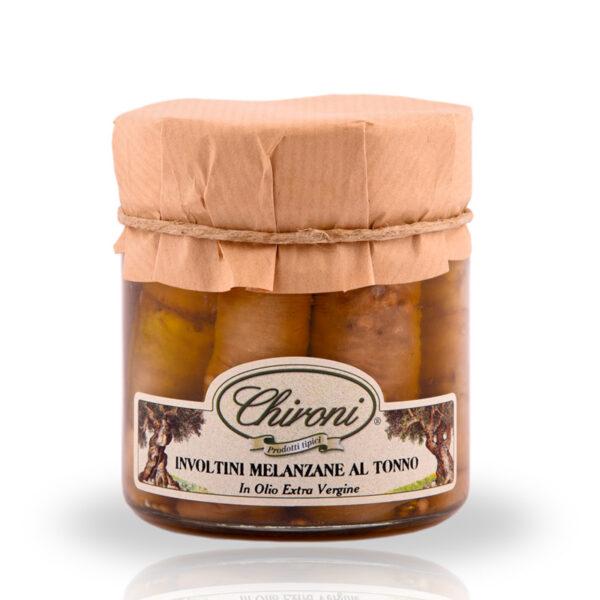involtini melanzane tonno 230 g chironi prodotti tipici salento acquistare on line prezzo prima scelta croccanti spezziate leggermente piccanti in olio extra vergine di oliva