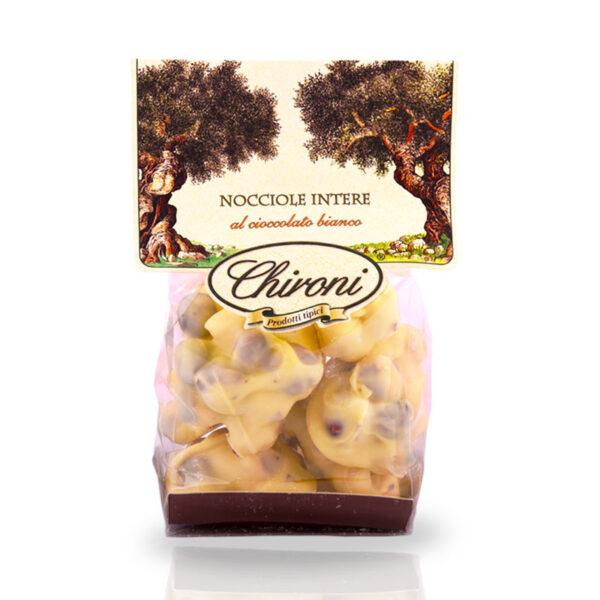 nocciole tostate al forno cioccolato bianco chironi prodotti tipici salento acquistare on line prezzo