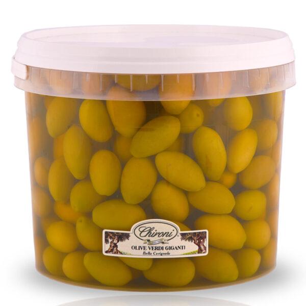 olive verdi giganti bella cerignola 3000 g chironi prodotti tipici salento acquistare on line prezzo