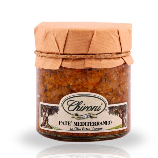 Pate mediterraneo 230 g chironi prodotti tipici salento acquistare on line prezzo