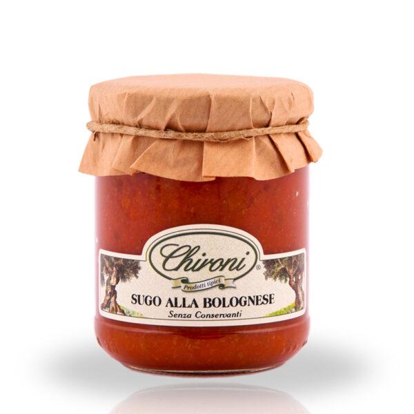 Sugo bolognese 180 g chironi prodotti tipici salento acquistare on line prezzo