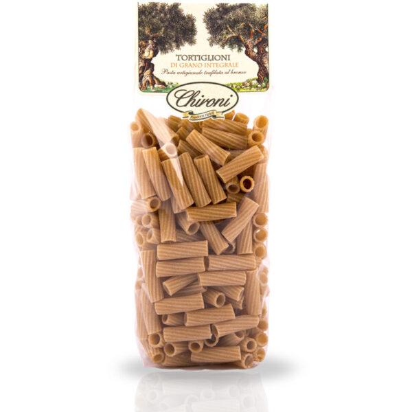 Tortiglioni integrali grano duro integrale 500 g chironi prodotti tipici salento acquista on line prezzo