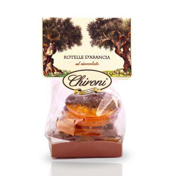 Rotelle di arancia caramellate cioccolato fondente chironi prodotti tipici salento acquistare on line prezzo ligue di suocera