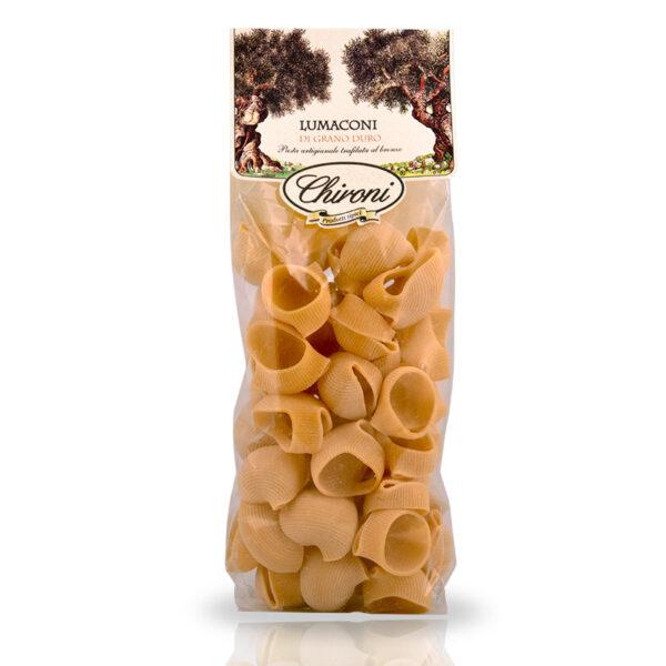 Lumaconi grano duro 500 g chironi prodotti tipici salento acquista on line prezzo