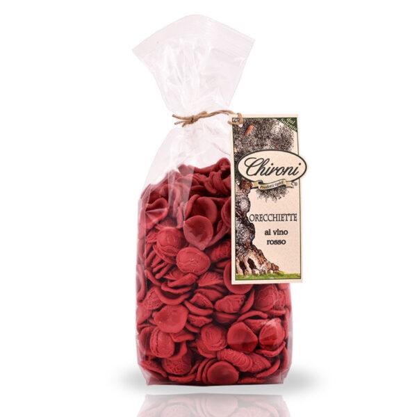 Orecchiette al vino rosso chironi prodotti tipici salento acquista on line prezzo a lenta essiccazione tradizione pugliese