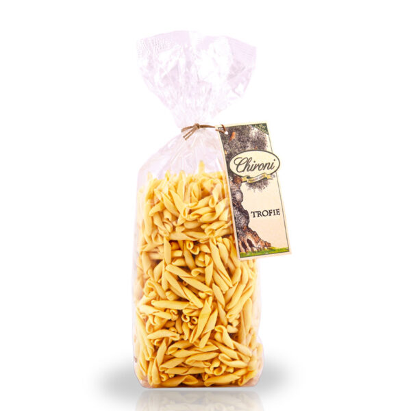 trofie pasta tipica italiana