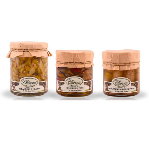 Melanzane a filetti fette involtino chironi prodotti tipici salento acquistare on line prezzo prima scelta croccanti spezziate leggermente piccanti tonno in olio extra vergine di oliva
