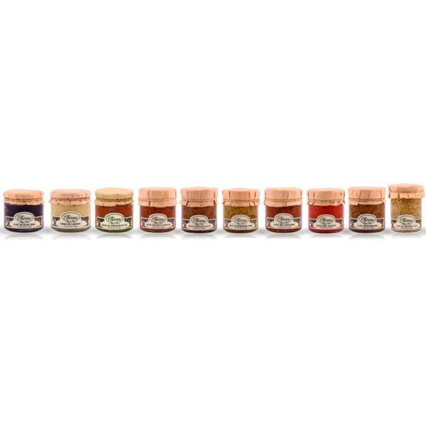 creme e pate chironi prodotti tipici salento acquistare on line prezzo olive carciofi pomodori secchi tartufo peperoncino pesto rosso piccante