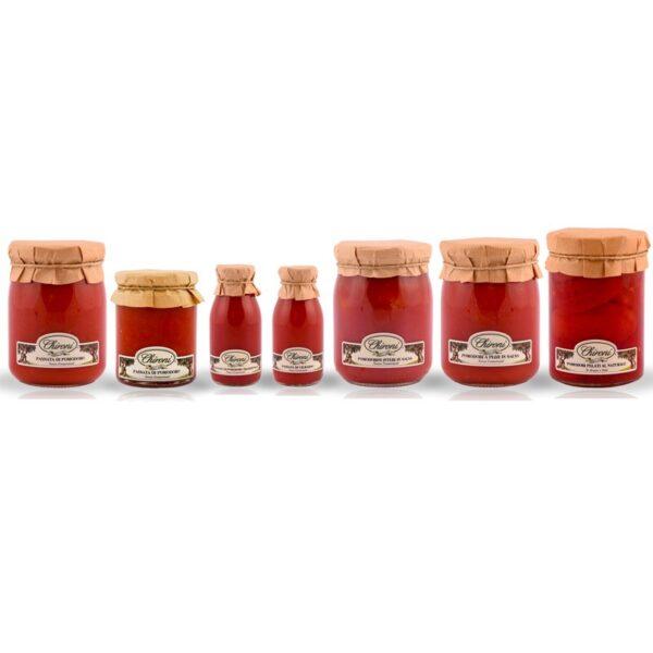 Passata di pomodoro chironi prodotti tipici salento classica tradizionale cigliegino pomodori pelati a pezzi interi in salsa acquistare on line prezzo