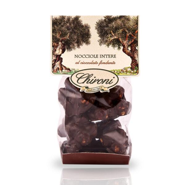 nocciole tostate al forno cioccolato fondente chironi prodotti tipici salento acquistare on line prezzo
