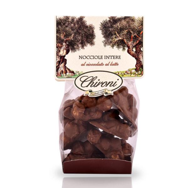 nocciole tostate al forno cioccolato al latte chironi prodotti tipici salento acquistare on line prezzo