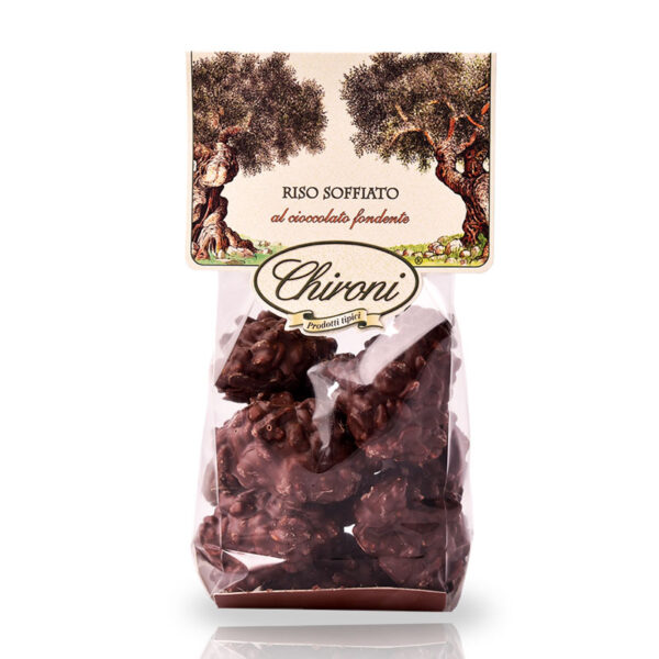 riso soffiato cioccolato fondente chironi prodotti tipici salento acquistare on line prezzo