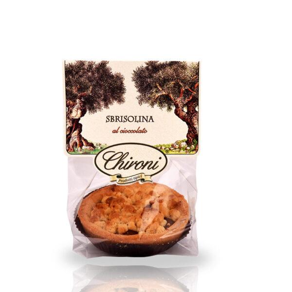 Sbrisolina al cioccolato 80 g chironi prodotti tipici salento acquistare on line prezzo
