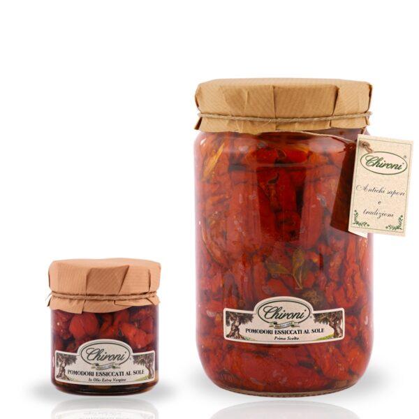 pomodori essiccati al sole 230 g 1600 g HO.RE.CA. chironi prodotti tipici salento acquista prezzo